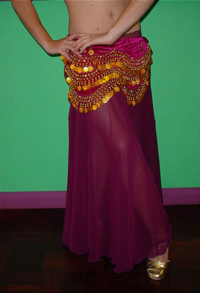 Belly dancing gold