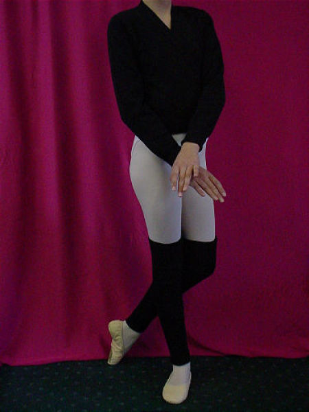 Black Crossover & Leg warmers