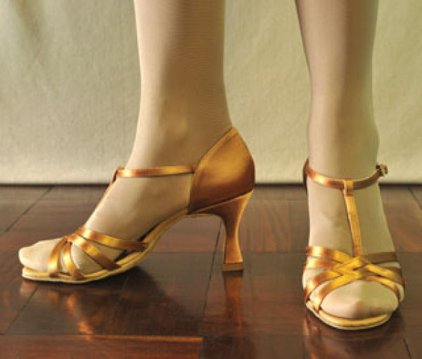 International Dance strappy 3inch heel