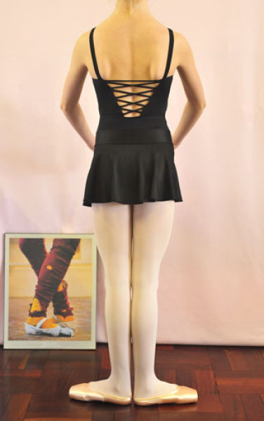 Leotard strappy back