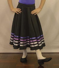 Ballet character skirt made to order