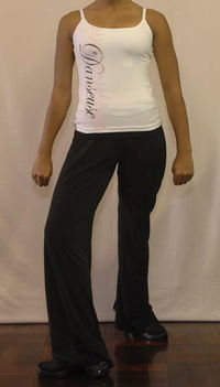 Hip hop outfit with diamante T-shirt
