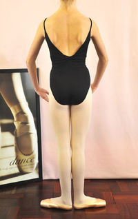 Leotard twist detail