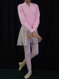 Pink Crossover & Leg warmers