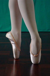 Teplov pointe shoe